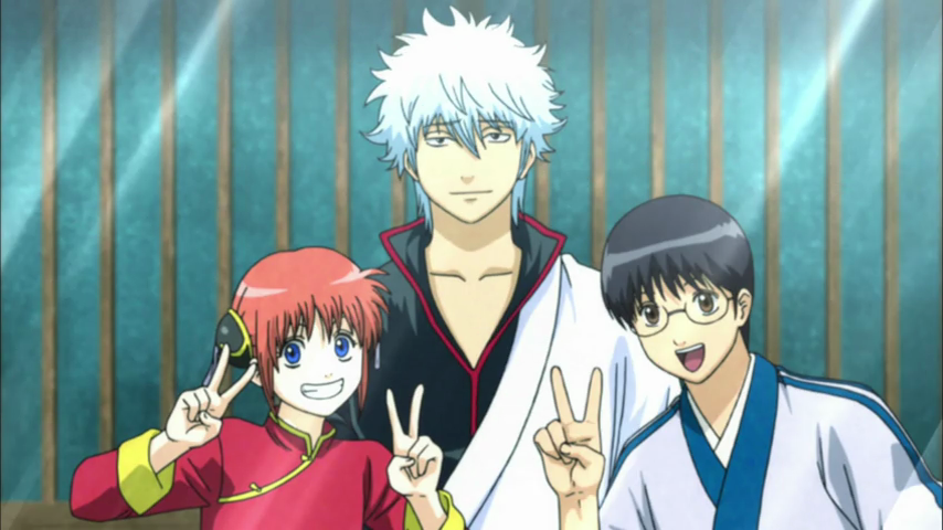 Gintama Episode 1-2 Subbed